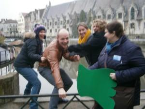 ecologische teambuilding Gent