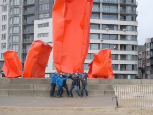 teamuitstap Oostende: company rescue