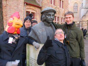 humoristisch teamevent Brugge stresskippen temmen