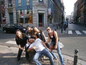 teambuilding met GPS Brussel