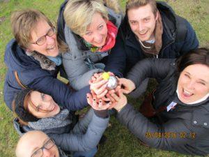 teambuilding gps spel Kortrijk